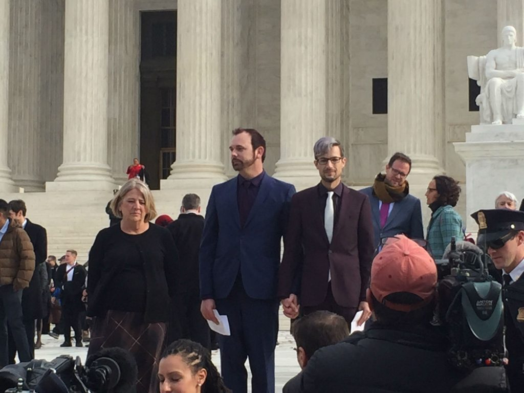 Supreme Court hears oral arguments in civil rights cake case