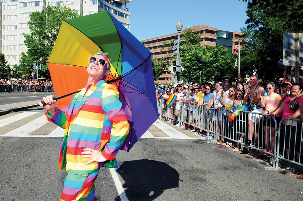 Washington dc gay pride parade 2018