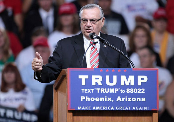 Former Arizona Sheriff Joe Arpaio Says He's Running For Senate