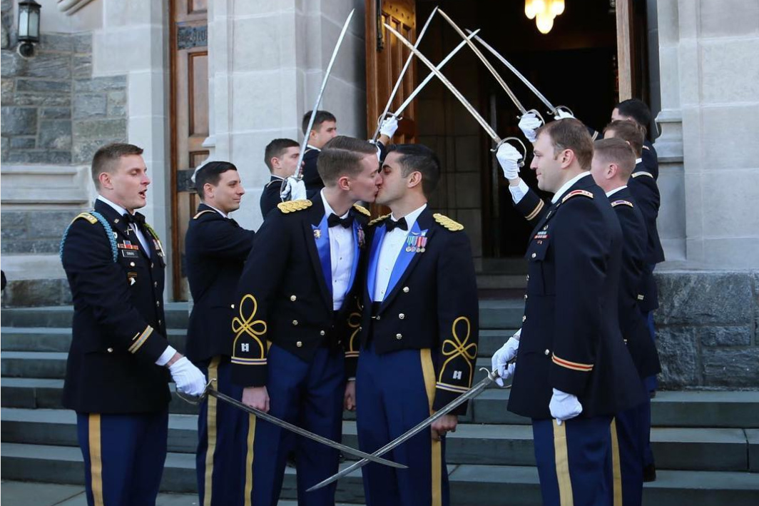 Wedding Gifts For Military Couples: Military Academy Hosts First Wedding Of Active-duty Gay