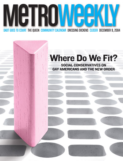 Where Do We Fit: Social Conservatives (December 9, 2004)