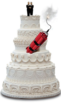(Photo Illustration by Todd Franson. Original cake photo by James Steidl/iStockphoto)