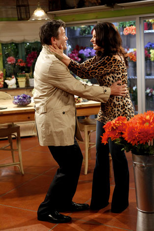 Peter and Fran on ''Happily Divorced''