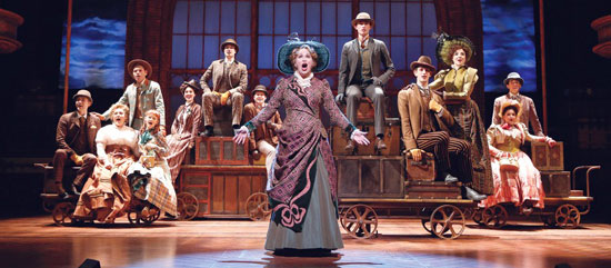 Hello Dolly: Nancy Opel and cast
