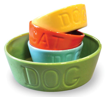 Bauer Pottery Food Bowls