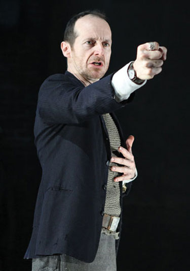 Denis O'Hare in ''Homer's Coat: An Iliad''