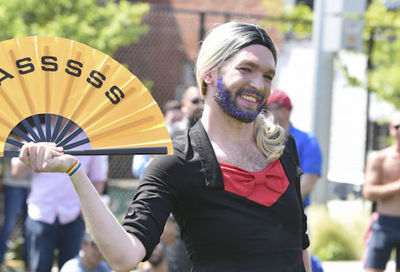 Stonewall Kickball's 6th Annual DragBall #34