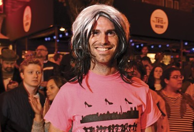 17th Street High Heel Race: Todd Franson #17
