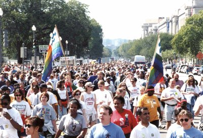 Retro Scene: Whitman-Walker's 1997 AIDSWalk #1