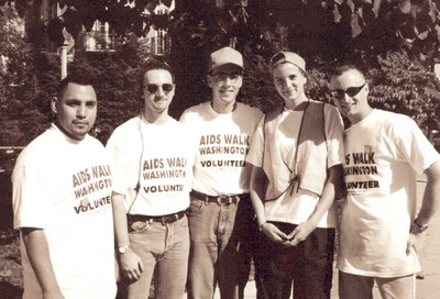 Retro Scene: Whitman-Walker's 1997 AIDSWalk #27