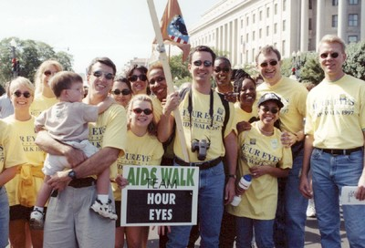 Retro Scene: Whitman-Walker's 1997 AIDSWalk #34