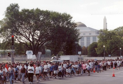 Retro Scene: Whitman-Walker's 1997 AIDSWalk #37