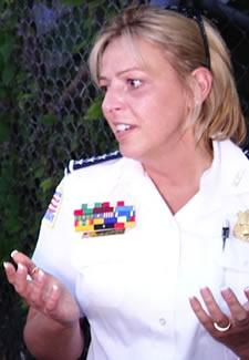 DC Police Chief Cathy Lanier Photo by Aram Vartian