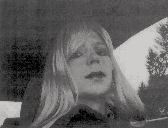 An image of Manning sent in a April 24, 2010, email coming out to her supervisor (Photo: Chelsea Manning, via U.S. Army file).