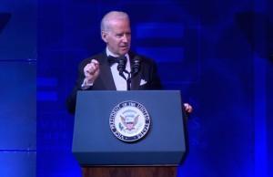 Joe Biden at HRC