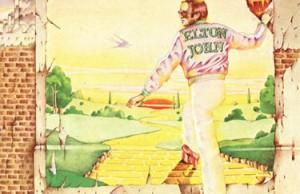 Elton John Goodbye Yellow Brick Road cover