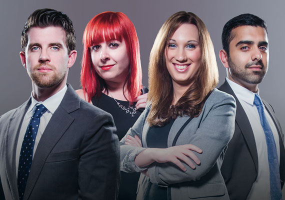 Photo of The Next Generation Awards 2014: Carl Street, Desiree Raught, Sarah McBride and Hassan Naveed