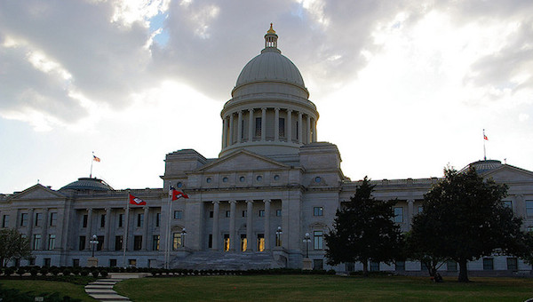 Photo: Arkansas State Capitol. Credit: Allen Brewer/flickr.
