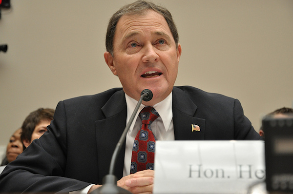 Photo: Utah Gov. Gary Herbert. Credit: Medill DC/flickr.
