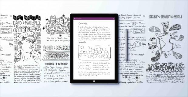Surface Pro 3 Writing