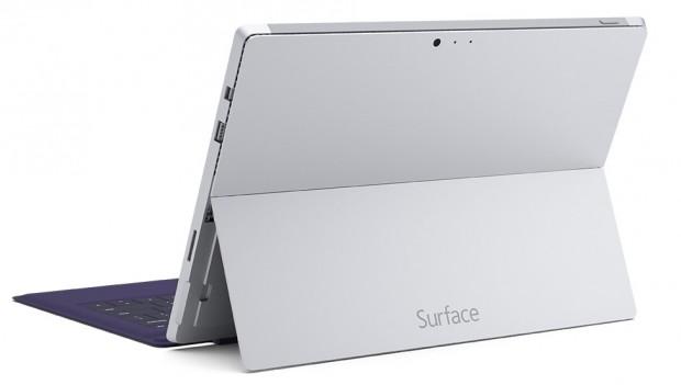 Surface Pro 3 back