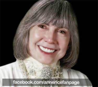 Anne Rice Facebook page
