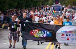 "Atlanta is just one of many cities hosting ""pos-June"" Pride celebrations. Photo courtesy of Atlanta Pride"