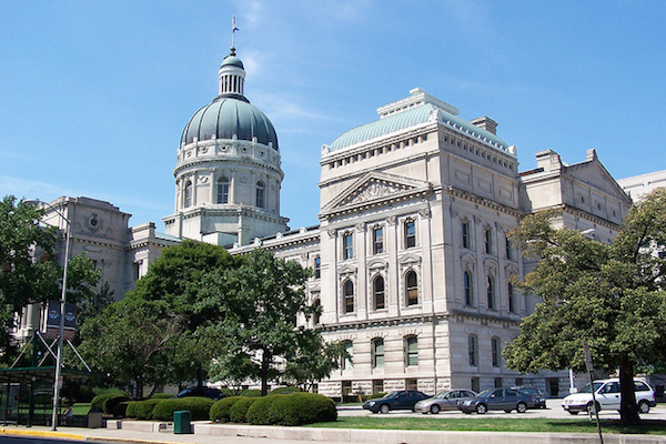 Photo: Indiana State Capitol. Credit: J. Stephen Conn/flickr.