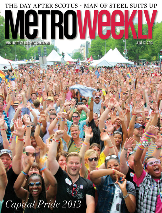 Capital Pride Festival cover June 13, 2013