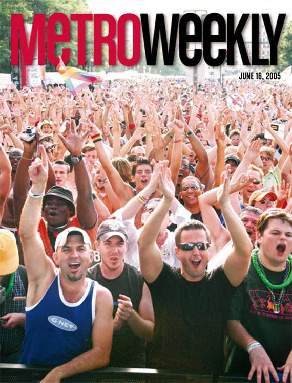 Capital Pride Festival cover June 16, 2005