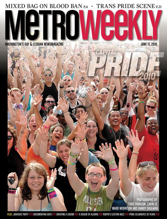 Capital Pride Festival cover June 17, 2010