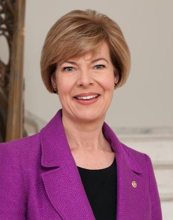 Photo: Tammy Baldwin. Credit: Official Senate portrait.