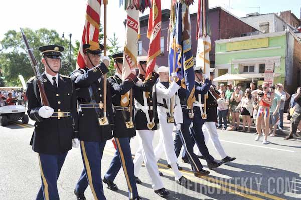 Capital Pride Parade Color Guard (Click to see MW's 500 photos)
