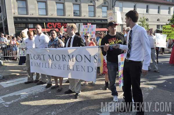 LGBT Mormons at Capital Pride Parade (Click for more photos)