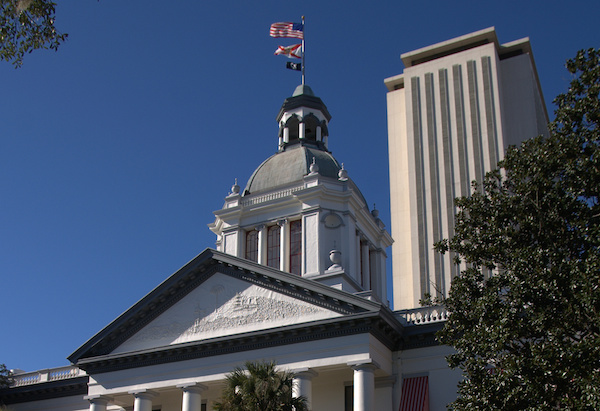 Photo: Florida State Capitol. Credit: Stuart Seeger/flickr.