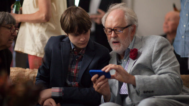 Charlie Tahan and John LIthgow in Love Is Strange