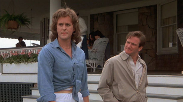 John Lithgow and Robin Williams in The World According to Garp