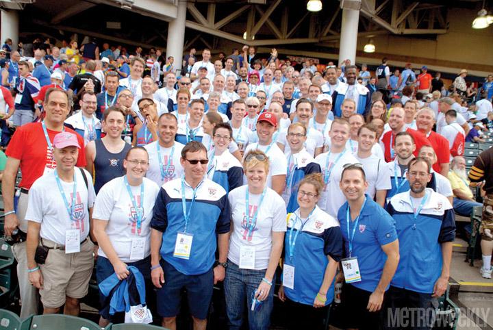 DC athletes at Gay Games 2014 Photos by Ward Morrison