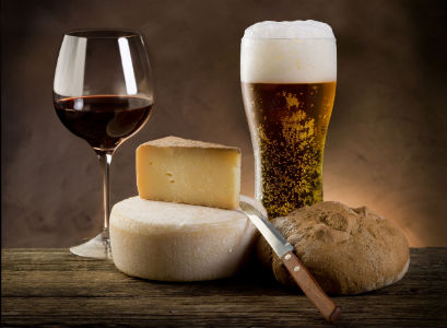 Beer, Wine and Stinky Cheese