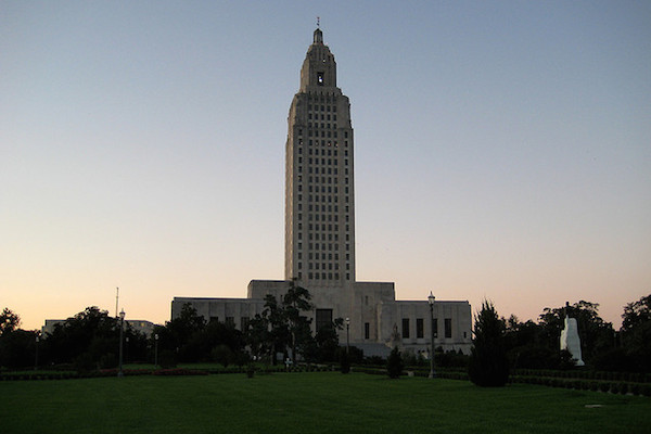 Photo: Louisiana State Capitol. Credit: Matt Malone/flickr.