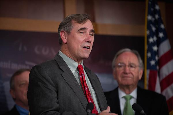 Photo: Jeff Merkley. Credit: Senate Democrats/flickr.