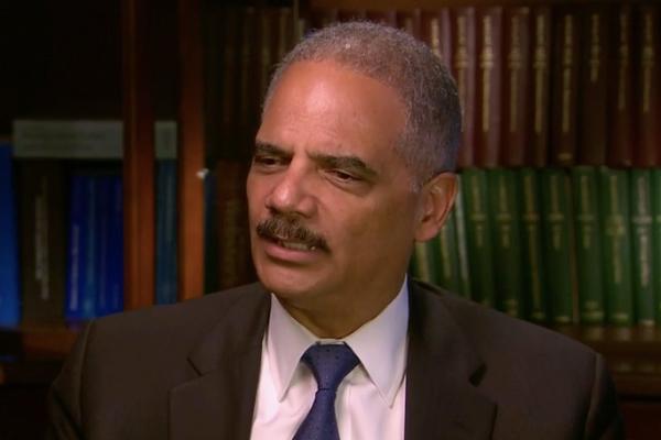 Eric Holder - Courtesy: NBC News
