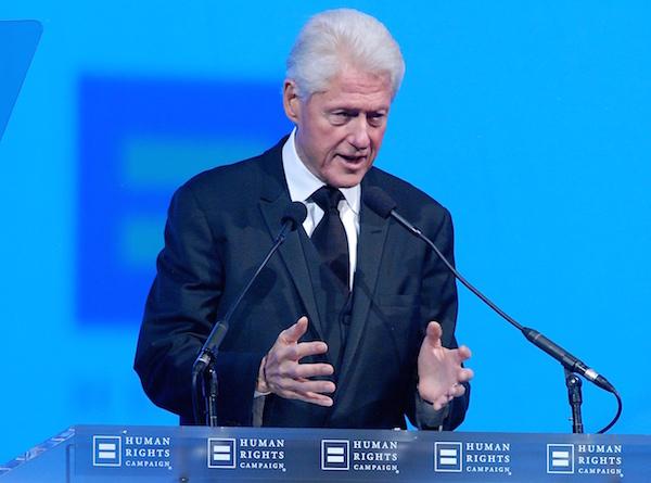 Bill Clinton - Credit: Ward Morrison/Metro Weekly