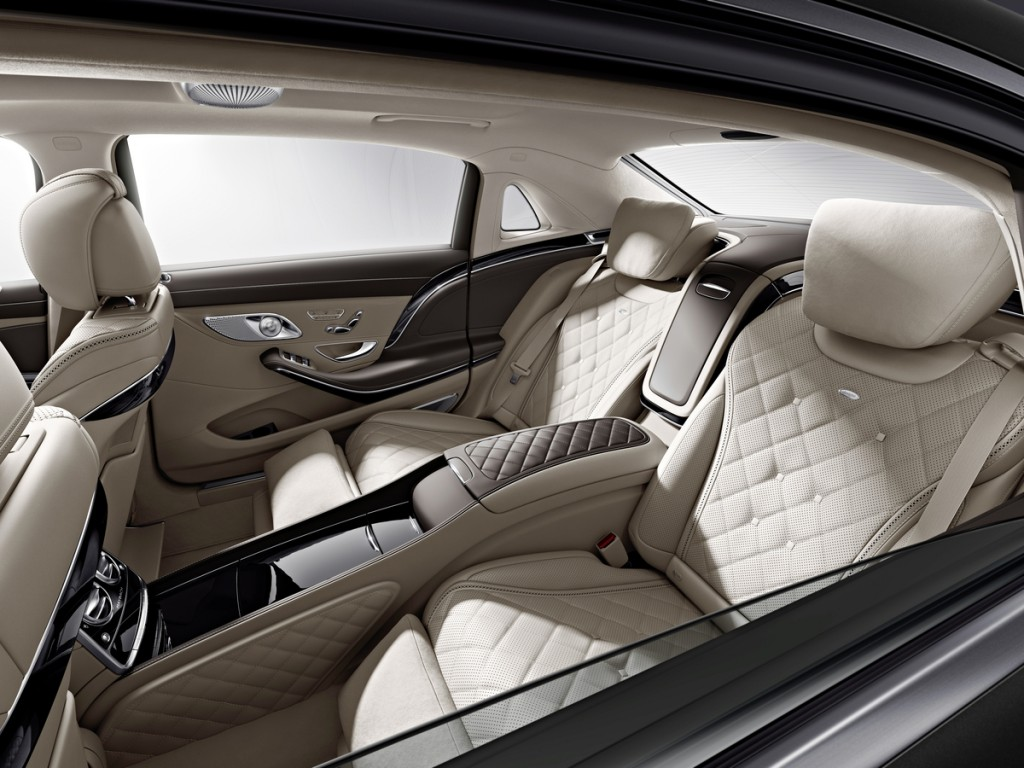 2016 Mercedes-Maybach S-Class Rear Seating