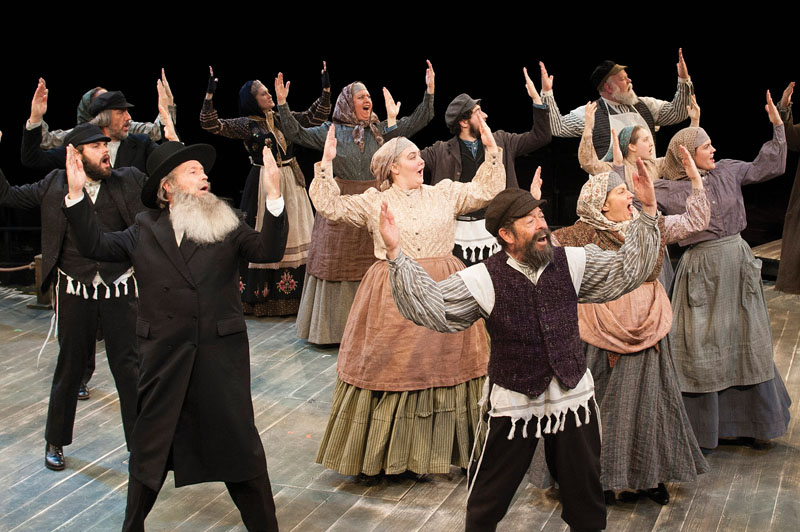 Fiddler on the Roof  Photo by Margot Schulman