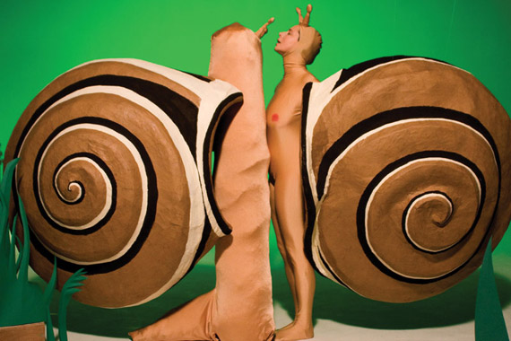 Isabella Rossellini in Green Porno: Snails Photo courtesy of Sundance Channel
