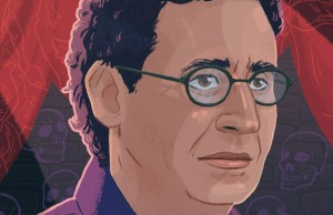 Tony Kushner Illustration by Christopher Cunetto