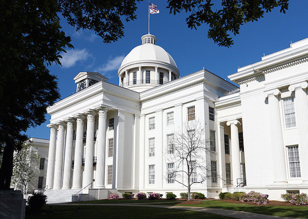 Alabama State Capitol - Credit: Thomas A/flickr