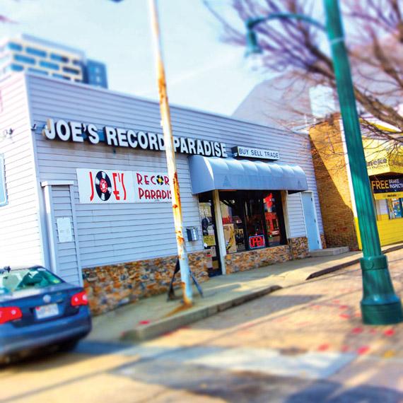 Joe's Record Paradise Photo by Todd Franson