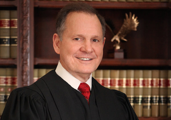 Roy Moore - Credit: Alabama Supreme Court